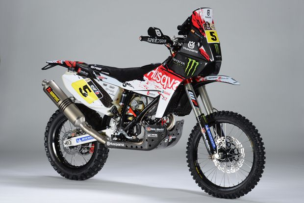 New Husqvarna TE449 RR by Speedbrain at Dakar Rally 2013