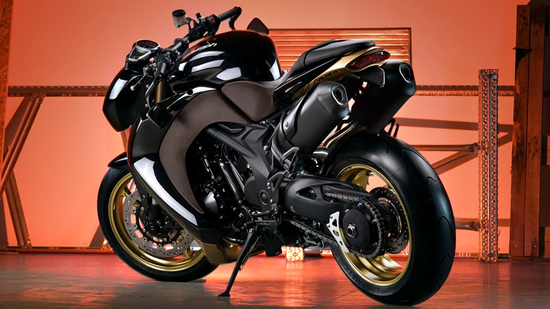 triumph speed triple - vilner custom bike - 06