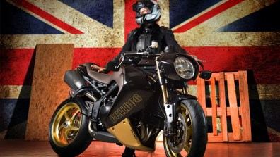 triumph speed triple - vilner custom bike - 08
