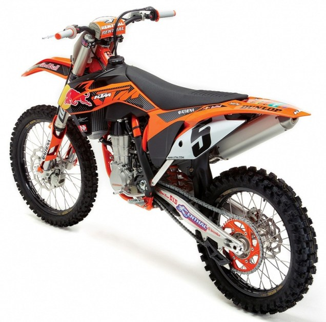 2013 KTM 450 SX-F Factory Edition - 01