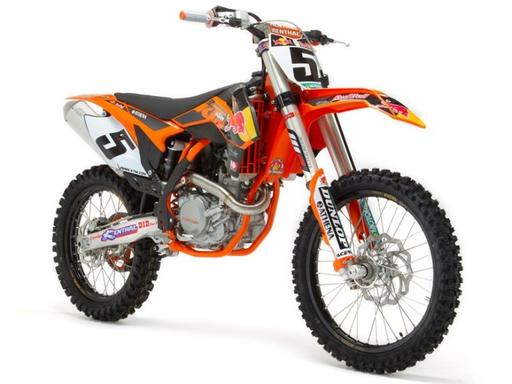 2013 KTM 450 SX-F Factory Edition - 04