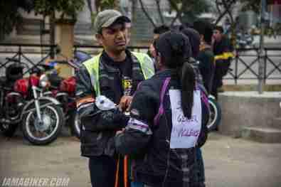 Bikerni Safety for Women ride - Bangalore - 02