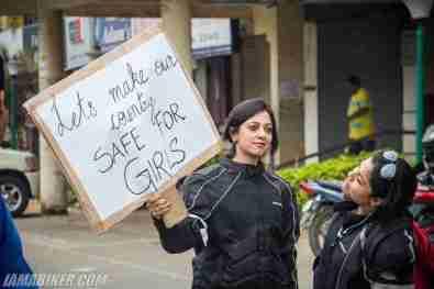 Bikerni Safety for Women ride - Bangalore - 15