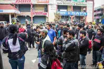 Bikerni Safety for Women ride - Bangalore - 18