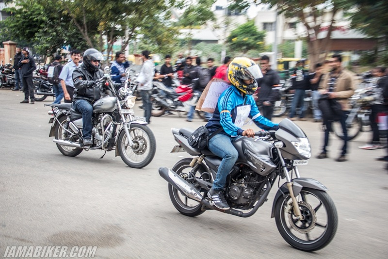 Bikerni Safety for Women ride - Bangalore - 32