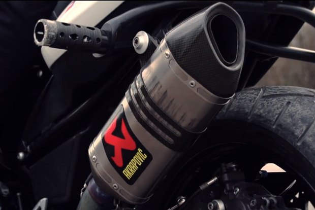 Chris Pfeiffer's Special Stunt for 100000 Akrapovic fans