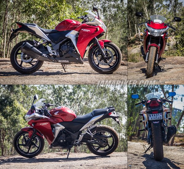 Honda CBR250R looks and build quality