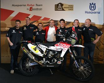 Husqvarna Rallye Team by Speedbrain