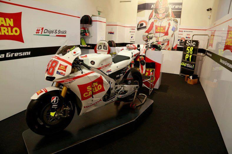 Marco Simoncelli memorial and exhibition - 16