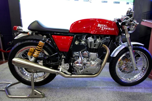 Royal Enfield Cafe Racer production version in 2013