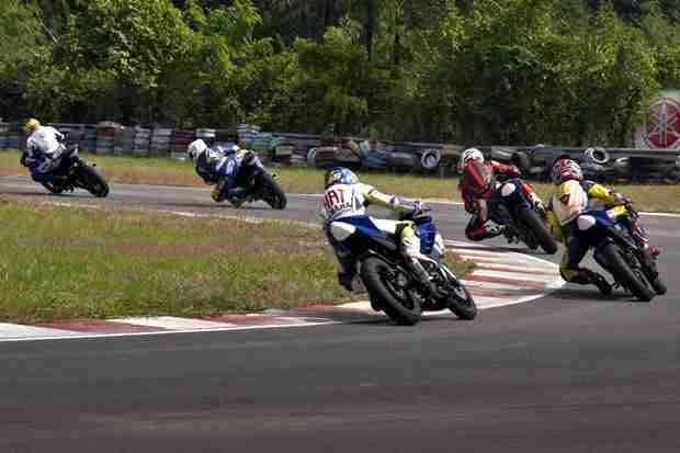 Yamaha R15 One Make Race Championship 2012 results