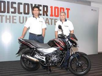 bajaj discover 100t launched