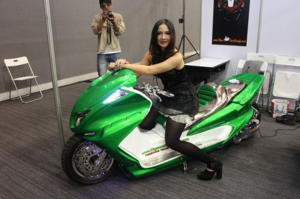 2013 Bangkok Motorbike Festival photographs - 26