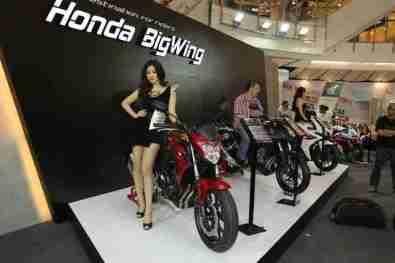 2013 Bangkok Motorbike Festival photographs - 42