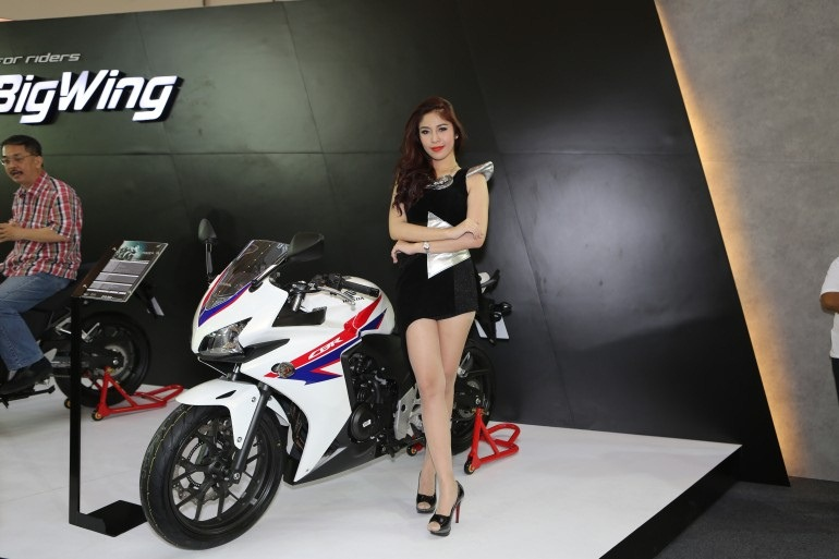 2013 Bangkok Motorbike Festival photographs - 43
