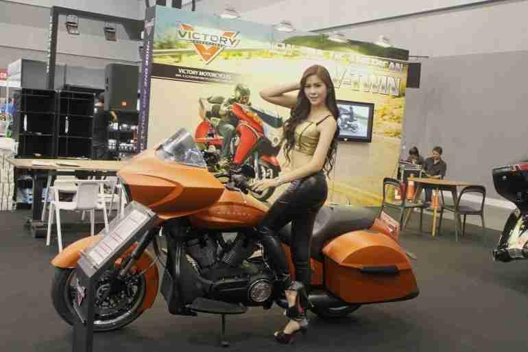 2013 Bangkok Motorbike Festival photographs - 50