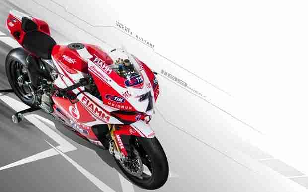 Ducati Alstare WSBK 2013 livery