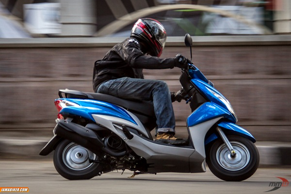 yamaha ray scooter review