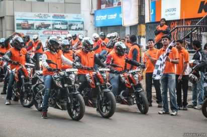 KTM Orange Ride Bangalore (24)
