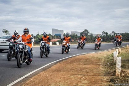 KTM Orange Ride Bangalore (63)
