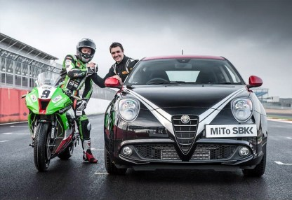 Kawasaki ZX-10R versus Alfa Romeo MiTo Paul Swift Chris Walker - 03