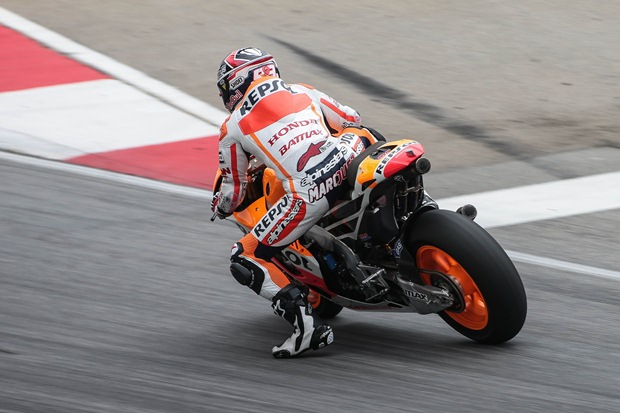 Marc marquez Honda start strong at Sepang test