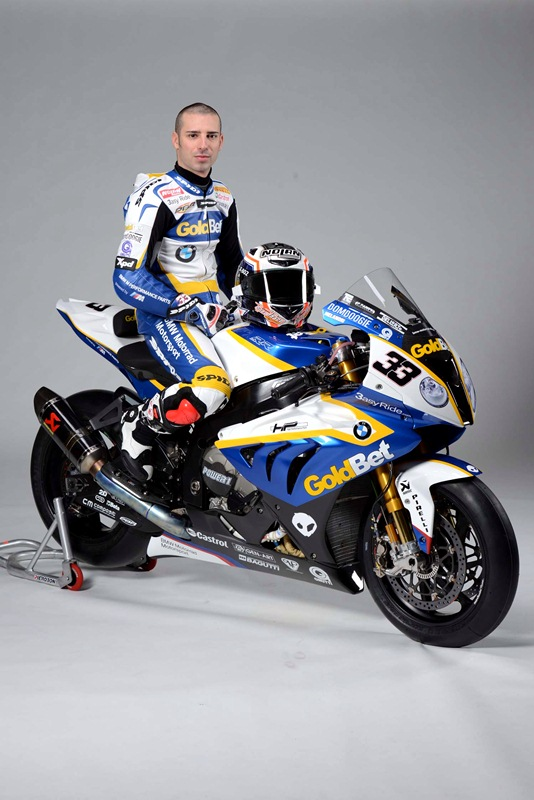 Marco Melandri 2013 BMW Motorrad GoldBet on S1000RR