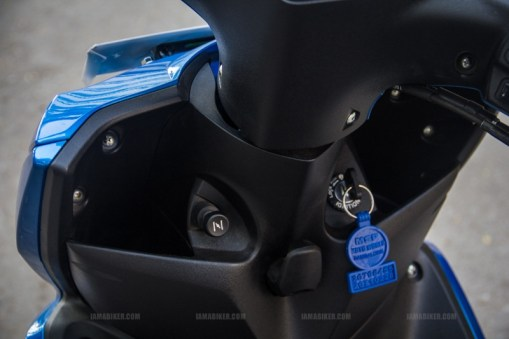 Yamaha Ray scooter India - 04