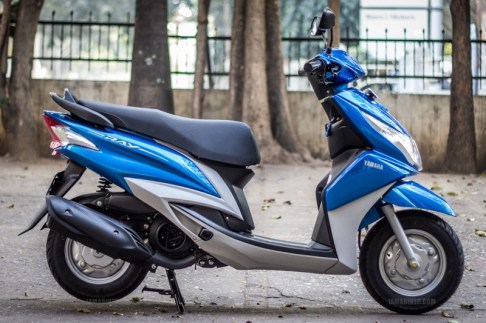 Yamaha Ray scooter India - 29