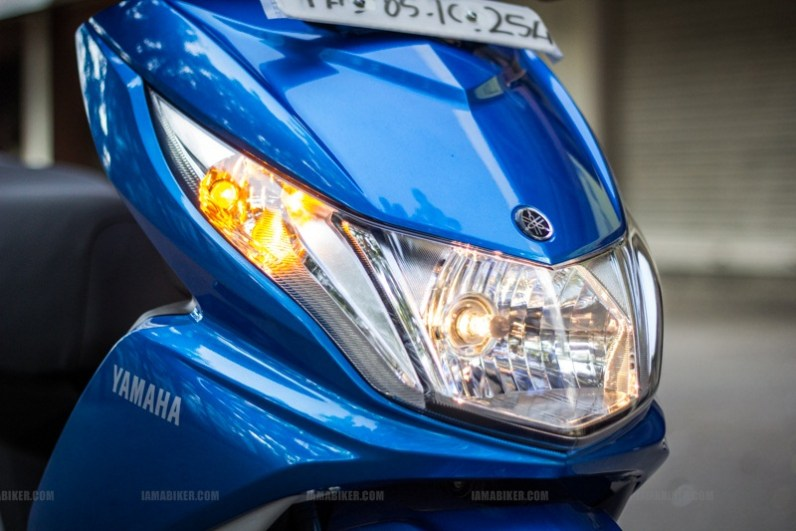 Yamaha Ray scooter India - 41