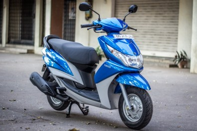 Yamaha Ray scooter India - 45