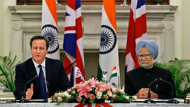 david cameron triumph motorcycles india