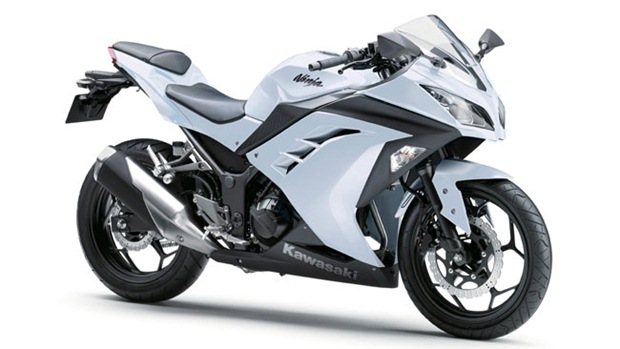 Kawasaki-Ninja-300-white india