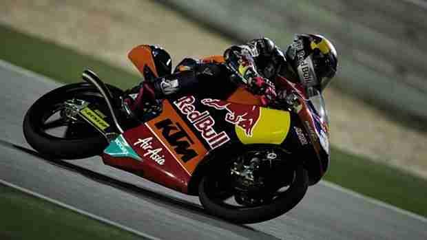 Luis Salom moto3 qatar