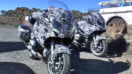 New 2014 BMW R1200GT spotted testing again