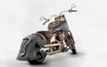 gold motorcycle - 05