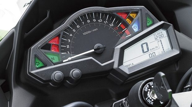 kawasaki ninja 300 india speedometer