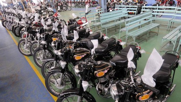 royal enfield new factory