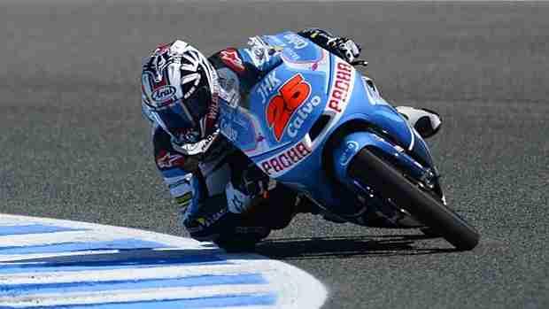 Maverick Vinales moto3 le mans 2013