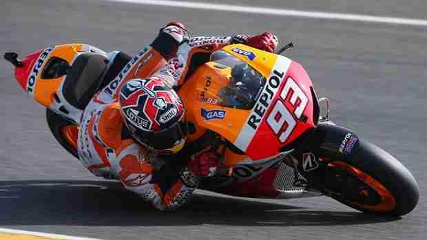 marc marquez motogp le mans qualifying 2013