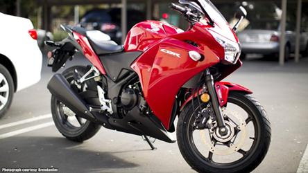 2013 Honda CBR250R colours India