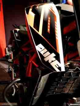 KTM Duke 390 radiator