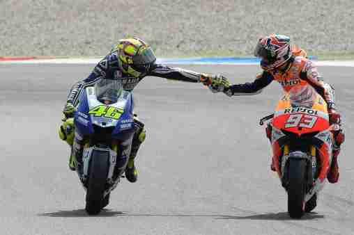 Valentino Rossi - Marc marquez