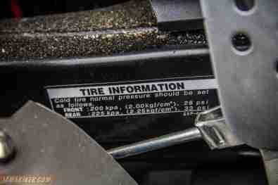 2013 Yamaha FZ-S tyre spec