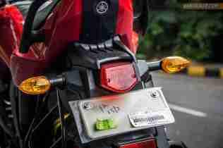2013 Yamaha FZ-S tail light