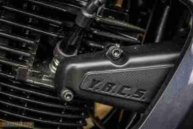 2013 Yamaha FZ-S engine
