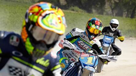 dainese video on rossi ranch