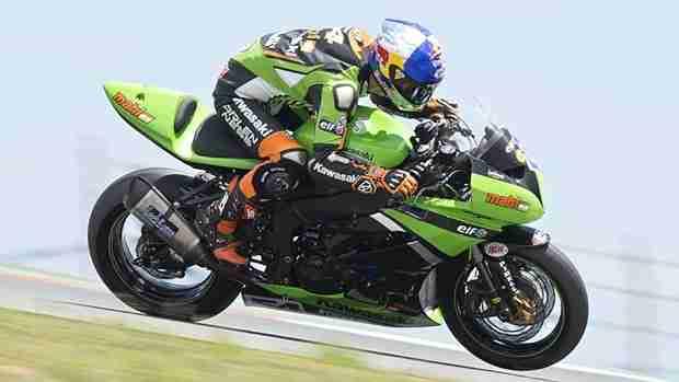 fabien foret WSS Silverstone Kawasaki Mahi Racing Team India