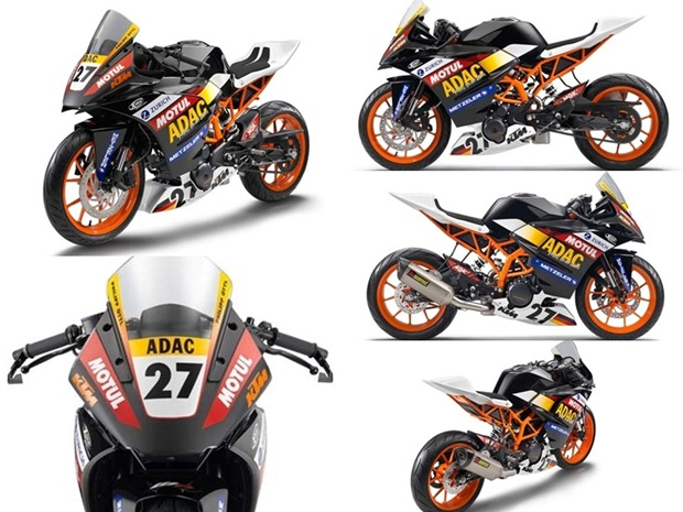 ktm rc390 race version