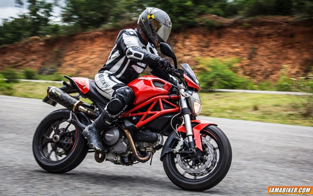 Ducati Monster 796 first ride
